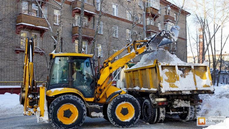 Правила уборки снега на дороге