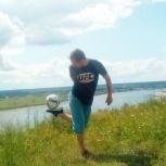 Индивидуальные тренировки по футбольному фристайлу, Томск
