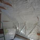 Утепление домов, крыш и стен пенополиуретаном, Томск