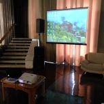 Аренда проектора и экрана в Томске, доставка, установка., Томск