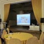 Аренда в Томске: проекционный экран на ножках 300х240 cм., Томск