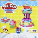 Делаем Торт. Набор Для Лепки Play-Doh, Томск