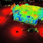 Наземное лазерное сканирование (3D-съемка, 3D-сканирование, НЛС), Томск