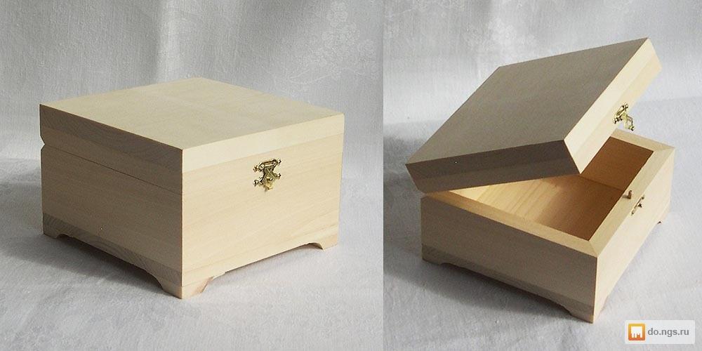 Продаем подарочные коробки из дерева , фото. Цена - 200.00 руб., Томск - НГС.ОБЪЯВЛЕНИЯ