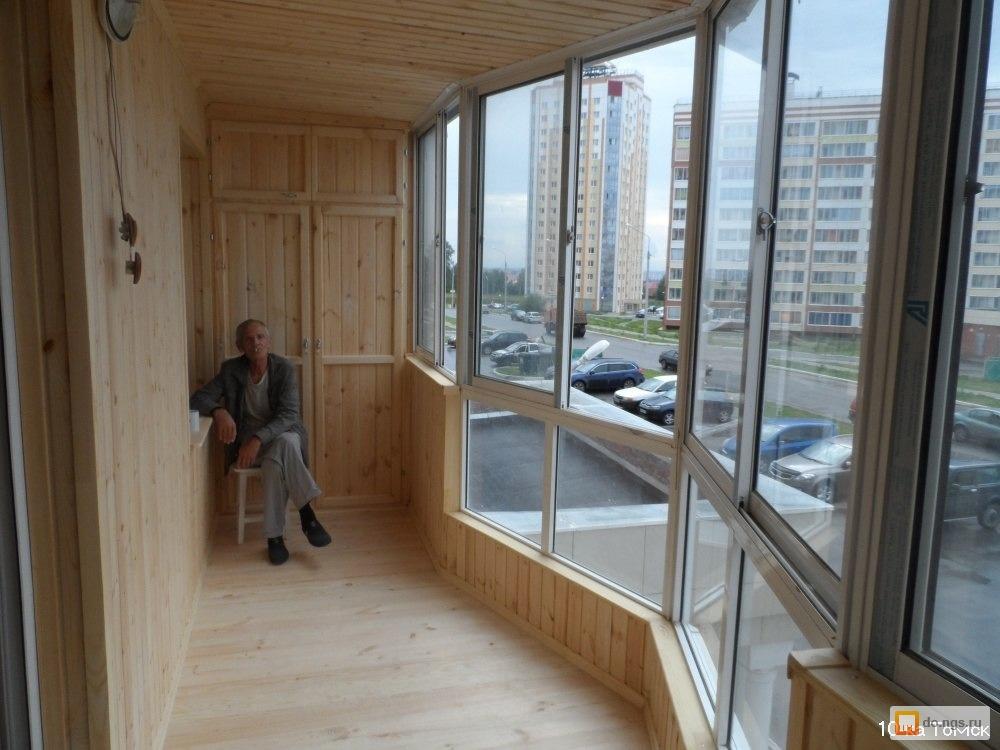 Балконы и лоджии в томске. утепление, остекление, отделка. ц.