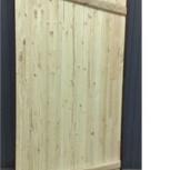 Двери крестьянские деревянные, Томск