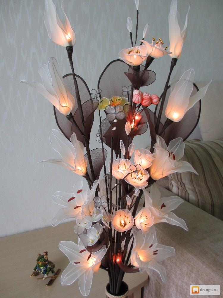 Ночники в виде цветов