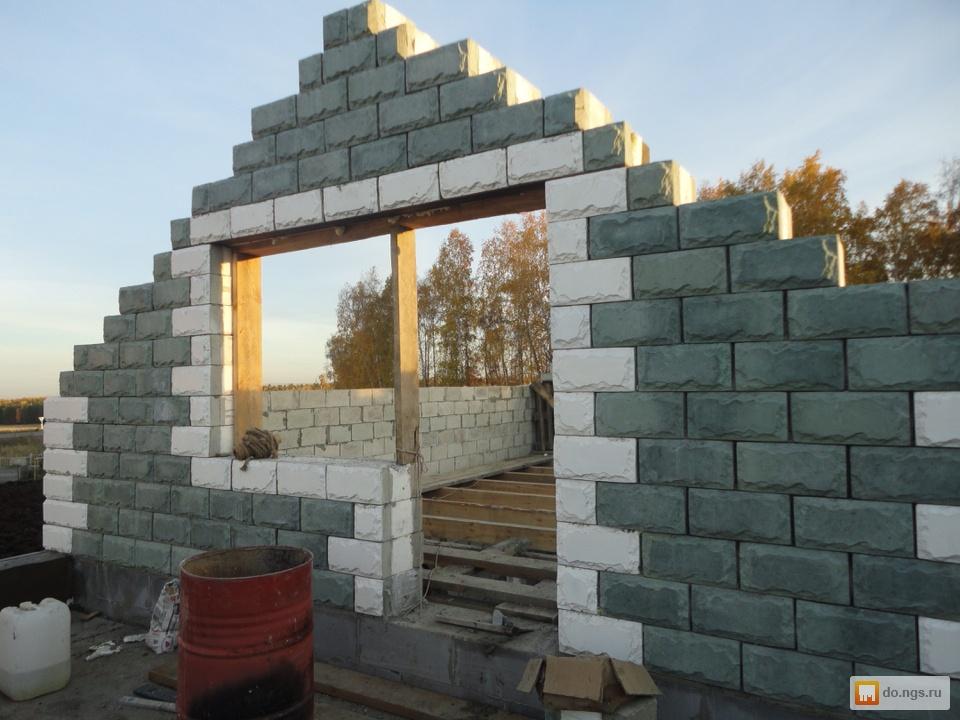 Блоки для строительства дома отзывы